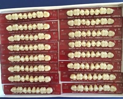 Dentsply New Hue Dentist Dental Lab Porcelain Denture Teeth  33s  U 73b4