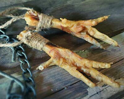 Chicken Feet, Luck Charm, Voodoo Protection, Occult Items, Oddities, Curiosities