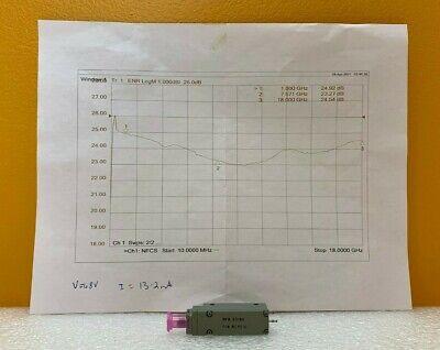 Noisecom Nc4316 10 Mhz To 18 Ghz 24 Db Enr 48 Vdc Sma F Noise Source. New