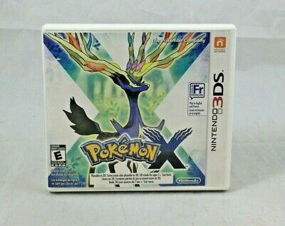 Pokemon X (Nintendo 3DS, 2013) Complete in Box