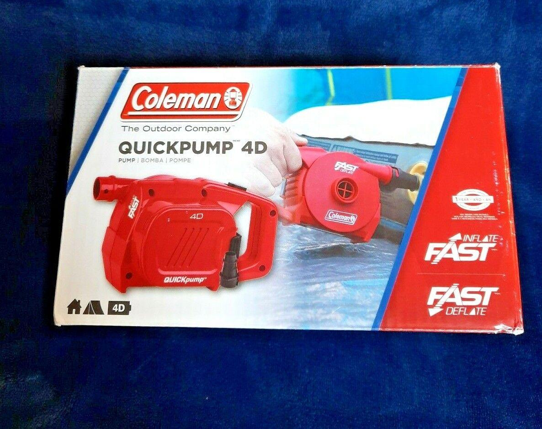Coleman High Performance 4D Battery Pump