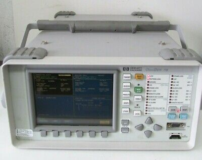 Hp Agilent Omniber 718 Communication Performance Analyzer 37718a