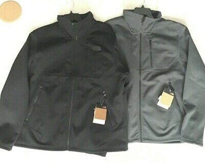 THE NORTH FACE MEN'S APEX RISOR SOFTSHELL JACKET COAT BLACK OR GREY REG/B&T XL,