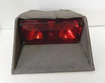 Tomar Electronics 3x7 Strobe Red W Mount Plate Rect-37 2