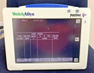 Welch Allyn Propaq 246 Multi-parameter Patient Monitor