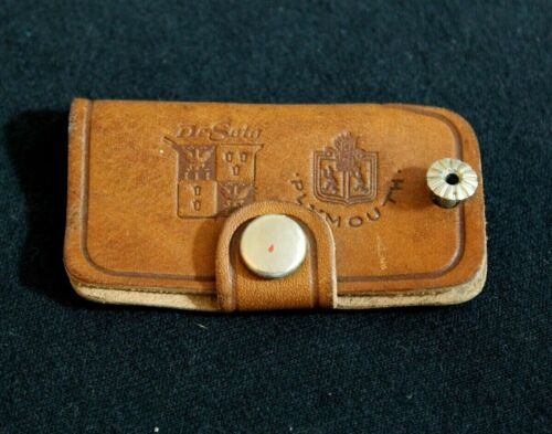 Leather Plymouth DeSoto Key Case Key Chain Accessory Salina,Kansas