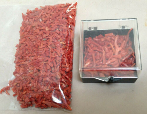 Red Coral Rough 4.9 Ounce Lot (approx 139 grams) - This Was Accquired In 1970