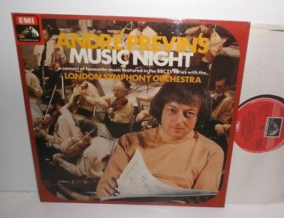 ASD 3131 Andre Previn's Music Night London Symphony Orchestra HP TAS List