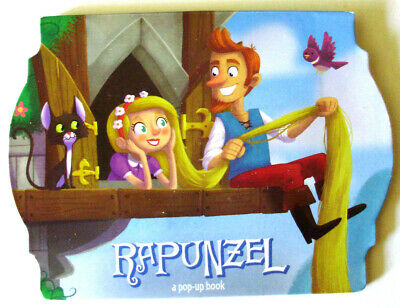 RAPUNZEL A Pop-Up Book Children's Boardbook Interactive Fun Pop-Up - Interactive Pop