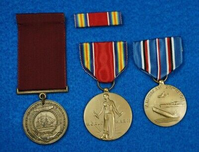 U.S. Navy Named & Dated Good Conduct Medal Group to a Chief Warrant Officer