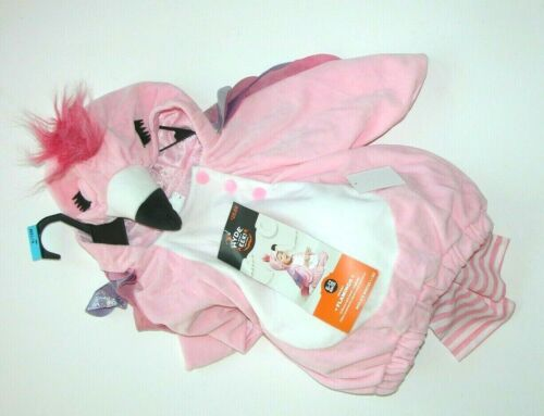 NEW NWT Halloween Costume Flamingo (0-6) months Pink Infant Baby
