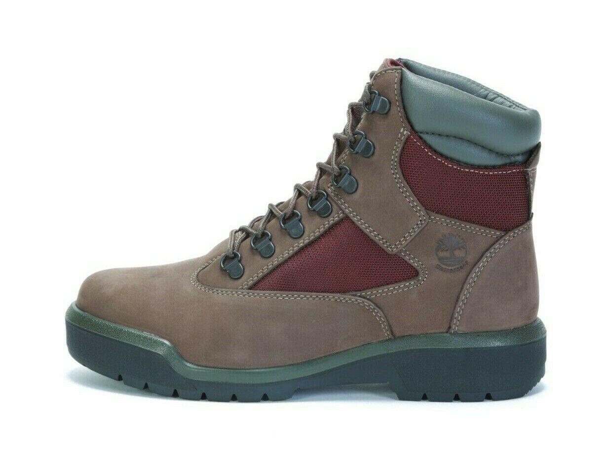 "TIMBERLAND Men's 6"" FIELD BOOT A1W2B (M) DARK BROWN (msrp: $175)"