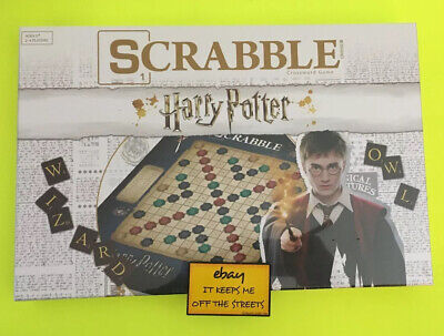 ❤️NEW - HARRY POTTER SCRABBLE CROSSWORD - AWESOME FAMILY Board Game!!❤️