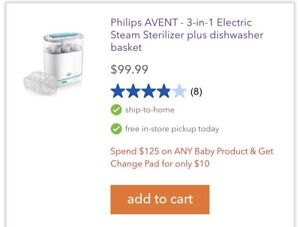 Phillips Bottle Warmer and Sterilizer
