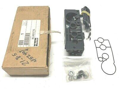 New Parker K142175 Pneumatic Manifold Assembly