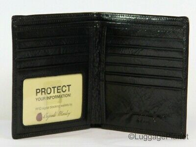 Osgoode Marley RFID Sienna Leather Collection ID Hipster Mens Wallet 1135