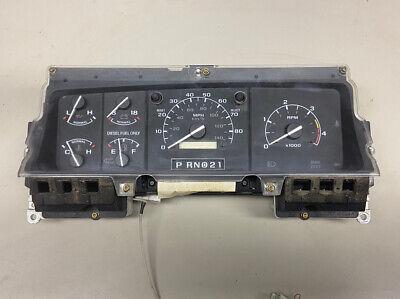 94 Ford F250 Truck 7.3 Diesel Instrument Speedo Cluster