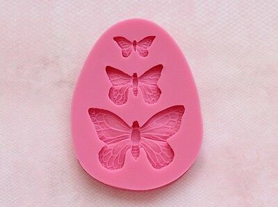 Flexible Silicon Mold - Butterfly Insect Bug Silicone Mold Flexible for Resin Craft or Food