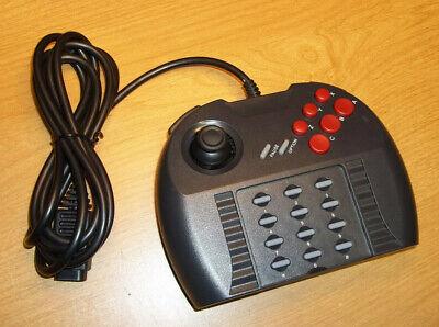 Atari Jaguar Pro Controller w/ Custom Clicky Thumbstick - A Superior Gamepad