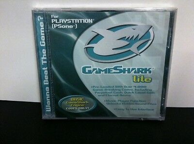GAMESHARK LITE For Playstation 1 CHEAT CODES PS1 PSONE Brand New SEALED!