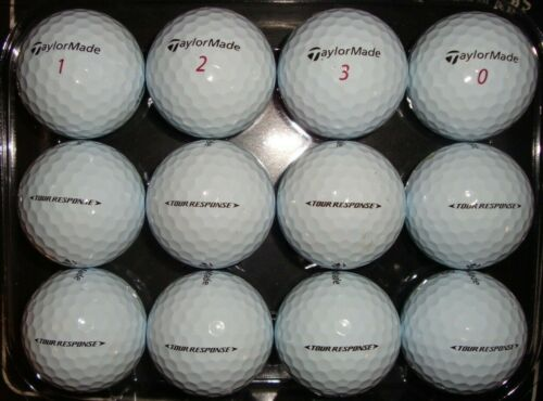 "12 Taylormade ""Tour Response"" used golf balls"