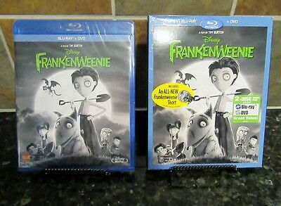 Frankenweenie (Blu-ray/DVD, 2013, 2-Disc Set)NEW/SEALED/SLIPCOVER