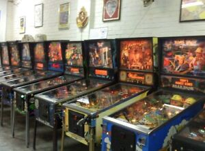 Wanted: pinball machines dead or alive!