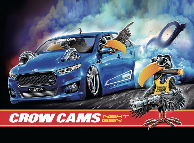 Crow Cams Ford  Burnout Flags 1500x900