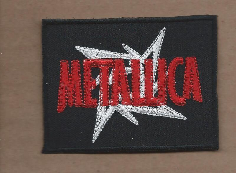 NEW 2 3/8 X 3 1/8 INCH METALLICA IRON ON PATCH FREE SHIPPING 4