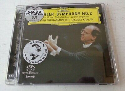 Mahler Symphony No. 2 SACD Double Disc Kaplan Wiener Philharmoniker for sale  Shipping to Canada