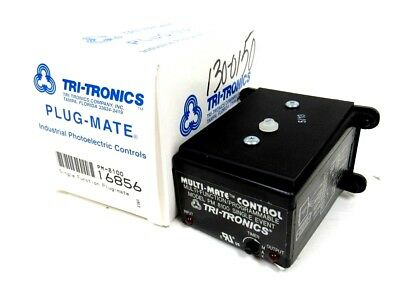 New Tri-tronics Pm-8100 Programmable Relay Pm8100