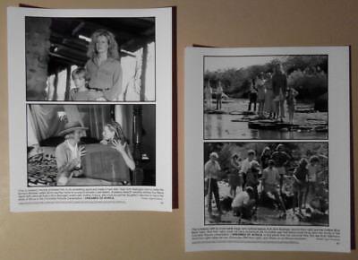 Photo Lot~ I DREAMED OF AFRICA ~2000 ~Kim Basinger ~Eva Marie Saint ~Liam Aiken