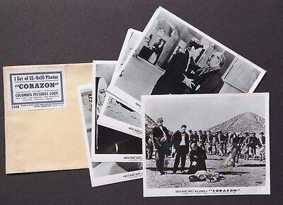 Vtg 1950's Corazon Movie Press Kit Photos (Narciso Ibanez Menta / Juan Barbieri)