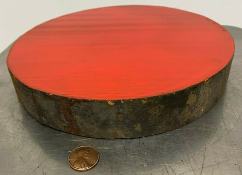 """1045 HR Steel Round Rod, 7-3/4"""" diameter x  1-1/4"""" Long"""