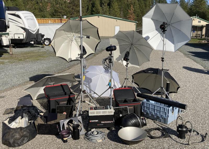 Huge Norman Lighting Professional Setup Photography P4000XT,LH2400, More!