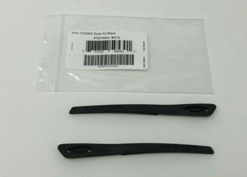 Oakley Turbine OO9263 (New Icon) Black Replacement Earsocks OO 9263 / OJ 9003