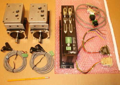 MDrive NEMA 34 Stepper Motors + SUPERIOR SS2000PCi-2 + All Cables - CNC KIT