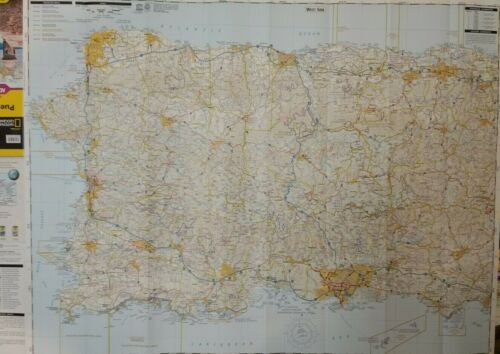 Puerto Rico Laminated Wall Map (K)