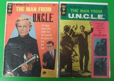 The Man From Uncle  11 20 Run Lot 2 Comics 1960S Gold Key