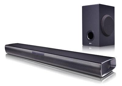 LG SJ2 2.1 Soundbar 160 Watt kabelloser Subwoofer Bluetooth Fernbedienung online kaufen