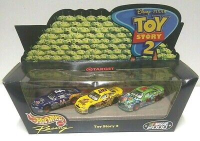 2000 Hot Wheels NASCAR Racing Toy Story 2 3 Car Pack HTF Target Exclusive