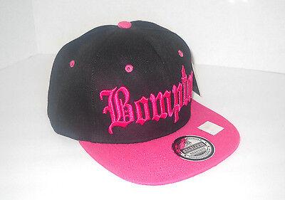 Bompton Compton Snapback One Size Cap Hat B Pink NWA  Easy-E Cube Dre New