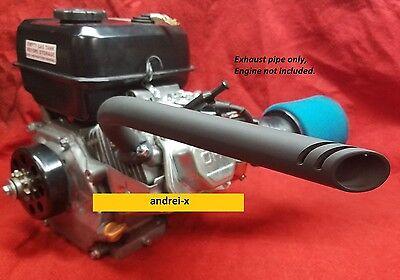 Drift Trike Exhaust Header Pipe for: Predator 212cc & 79cc, Honda GX160, GX200,
