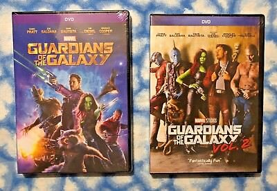 Guardians Of The Galaxy Volume 1   Volume 2  2 Dvd Bundle   Free Usps Shipping