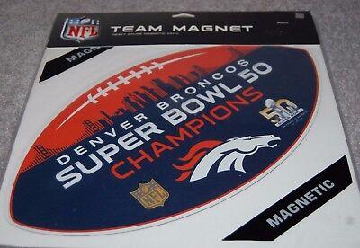 - DENVER BRONCOS SUPER BOWL 50 NFL FOOTBALL SPORTS TEAM MAGNET