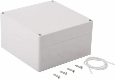 Plastic Junction Box Universal Electric Project Enclosure Ip65 Abs Gray Usa