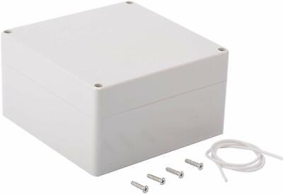 Plastic Junction Box Universal Electric Project Enclosure Ip65 Abs Gray Usship