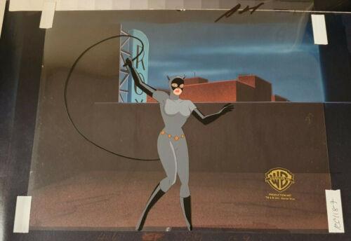 Batman The Animated Series Cat woman Animation cel Batgirl Returns 1994