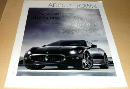 MASERATI GRANTURISO S SPORTS CAR  ARTICLE