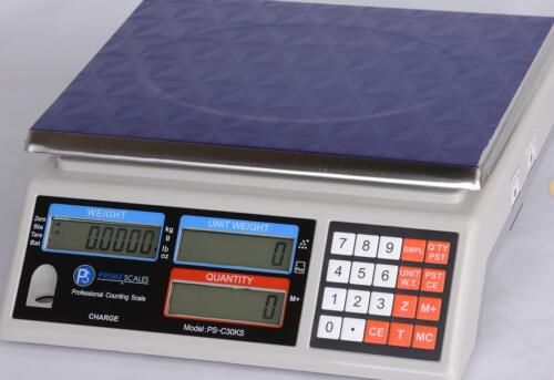 """Part Counting Scale 50 lb X 0.001 lb/ 20 kg x 0.5  g, Pan 11""""x8.5"""",  Brand New"""